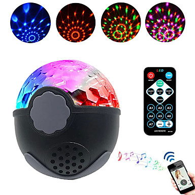 17 59 Brelong Led Disco Stage Light Dj Disco Ball Light Sound Activate Laser Projector Effect Light Music Christmas Party Triangle