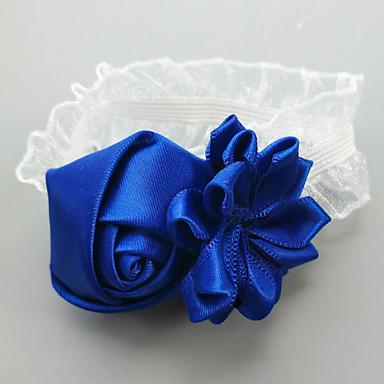 Bryllupsblomster Håndledscorsage Bryllup / Bryllupsfest Groskorn / Blonde 0-10 cm