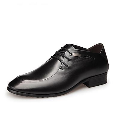 Ανδρικά Τα επίσημα παπούτσια Δέρμα Ανοιξη καλοκαίρι / Φθινόπωρο & Χειμώνας Oxfords Μαύρο / Καφέ