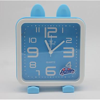 relógio de mesa de relógio moderno quadrado plástico contemporâneo