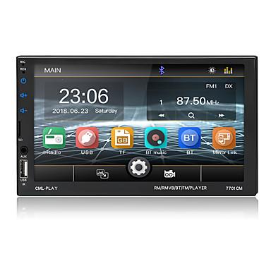 cheap Car DVD Players-Car Radio Bluetooth 7 Touch Screen BT Hands-free AUX USB FM Auto Audio Steering Wheel Control MP5 Player Autoradio 2 Din
