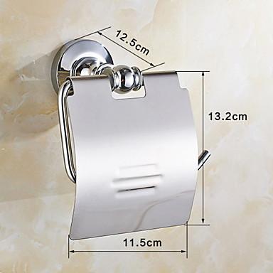 Βάση για χαρτί τουαλέτας Δημιουργικό Σύγχρονο Ορείχαλκος 1pc - Μπάνιο Επιτοίχιες
