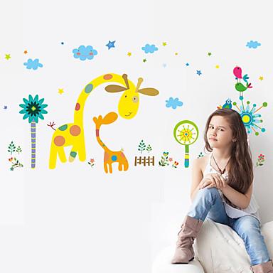 Διακοσμητικά αυτοκόλλητα τοίχου - Αεροπλάνα Αυτοκόλλητα Τοίχου Νεκρή Φύση / Άνθινο / Βοτανικό Υπνοδωμάτιο / Παιδικό Δωμάτιο
