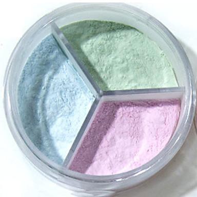 3 χρώματα 1 pcs Ξηρό Φορητό / ανθεκτικό στο νερό Θηλασμός / Πρόσωπο # Σύγχρονο / Μοντέρνα Εύκολο στη μεταφορά / Εύκολο στη χρήση Ημερομηνία / Πάρτι γενεθλίων Μακιγιάζ Καλλυντικό