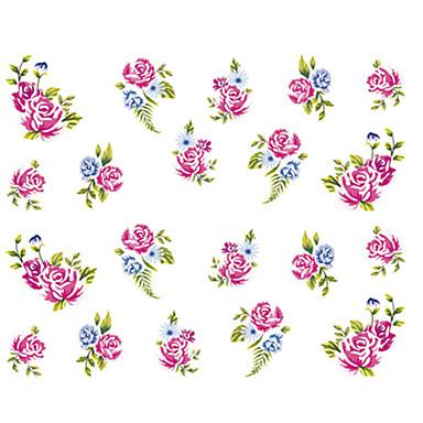 1 pcs Αυτοκόλλητα Δημιουργικό τέχνη νυχιών Μανικιούρ Πεντικιούρ Mini Style / Ασφάλεια / Λεπτή σχεδίαση Στυλάτο Καθημερινά / Φεστιβάλ