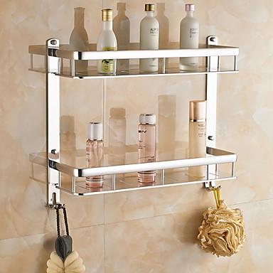 Hylle til badeværelset Kreativ Moderne Aluminium 1pc - Baderom Vægmonteret