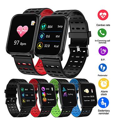 ts10 smart klokke fitness tracke band ip68 vanntett smartwatch menn kvinner klokke for iphone ios xiaomi android telefon