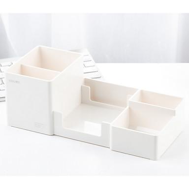 Plásticos Clássico / Multifunção Casa Organização, 1pç Suportes e Caixas de Canetas