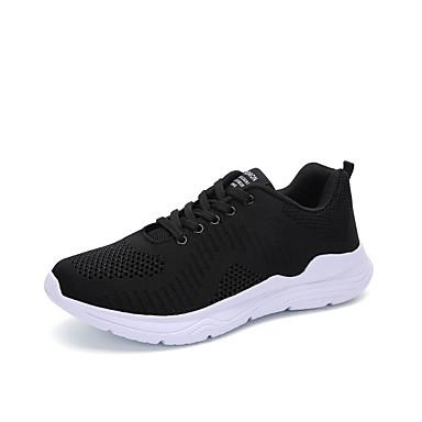Ανδρικά Παπούτσια άνεσης PU Καλοκαίρι Αθλητικά Παπούτσια Περπάτημα Μαύρο / Μπλε