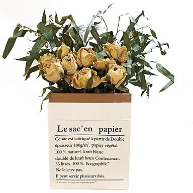 Ψεύτικα λουλούδια 10 Κλαδί Κλασσικό Σύγχρονη Σύγχρονη Αιώνια Λουλούδια Λουλούδι για Τραπέζι