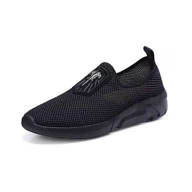 Ανδρικά Παπούτσια άνεσης Δίχτυ Καλοκαίρι Καθημερινό Μοκασίνια & Ευκολόφορετα Μη ολίσθηση Μαύρο / Πορτοκαλί / Κίτρινο
