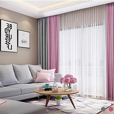 Blackout To paneler Gardin Stue   Curtains