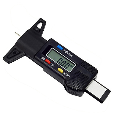 Car Digital Tyre Wheel Tire Tread Depth Tester Gauge Meter Measurer Durable Tool