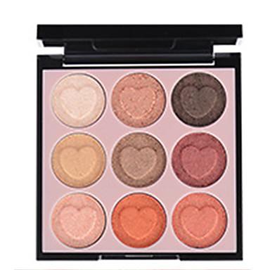 9 cores Sombra Mate Sombra de olho Pró Fácil Uso Profissional Maquiagem para o Dia A Dia Cosmético Dom