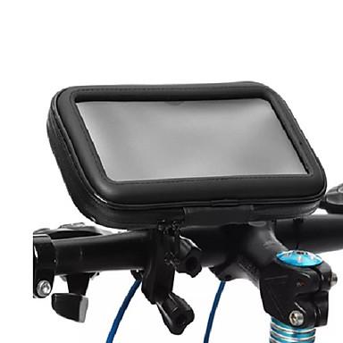 voordelige Auto-interieur accessoires-waterdichte fietstelefoonhouder houder pouch fiets 360 rotatie telefoon stand case voor fiets motorfiets