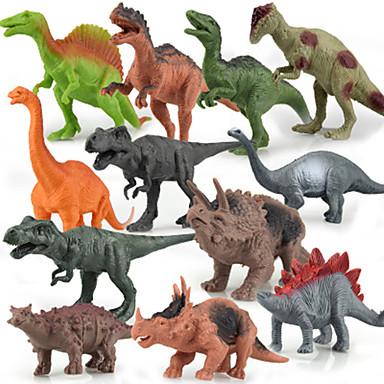 preiswerte Action & Spielfiguren-12 pack Dinosaurier Modell Anzug Action-Figuren Spielzeug