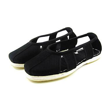 Ανδρικά Παπούτσια άνεσης Βαμβάκι Καλοκαίρι Καθημερινό Μοκασίνια & Ευκολόφορετα Αναπνέει Μαύρο / Κίτρινο / Γκρίζο