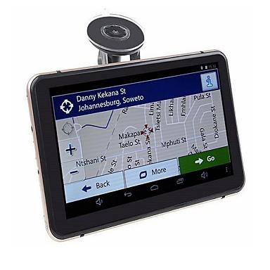 levne Auto Elektronika-7 palcový android gps navigační auto dvr wifi av-in bluetooth fm vysílač svazek zdarma nejnovější mapy