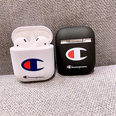 povoljno Slučajevi AirPods-airpods slučaj pc solid color lijep crtani uzorak otporan na udarce zaštitni pokrov prijenosni za airpods1& airpods2 (kućište za punjenje zračnih jastuka nije uključeno)