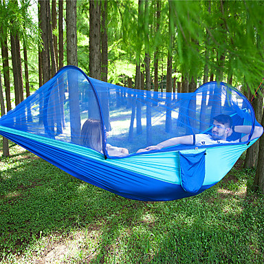 Camping Hammock with Pop Up Mosquito Net, Camping Furniture, Search  LightInTheBox
