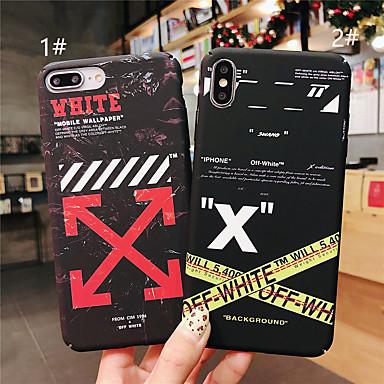 povoljno iPhone maske-slučaj za jabuka iphone xr / iphone xs max uzorak / sjaj u mračnoj pozadini natpis natrag riječ / fraza tvrdi pc za iphone x xs 8 8plus 7 7plus 6 6plus 6s 6splus