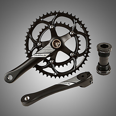 povoljno Dijelovi za bicikl-Cranksets Za Cestovni bicikl / Mountain Bike Aluminum Alloy Pojačana izdržljivost / Izdržljivost / Jednostavna primjena Biciklizam Crn