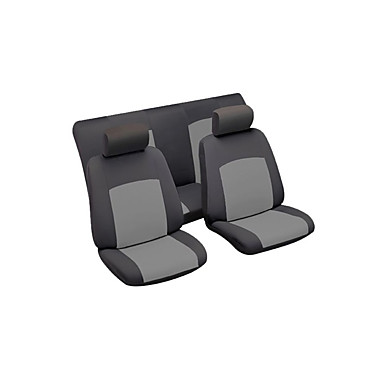 levne Doplňky do interiéru-Litbest autosedačky potahy potahů univerzálních po celý rok černá šedá pět sedadel