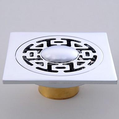 Ralo Criativo Modern Metal 1pç - Banheiro Montagem de Chão