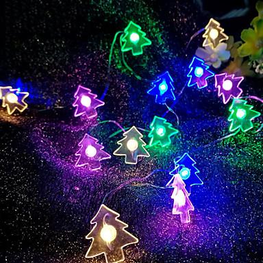 2m Lysslynger 20 LED Multifarget Dekorativ 3 V 1set