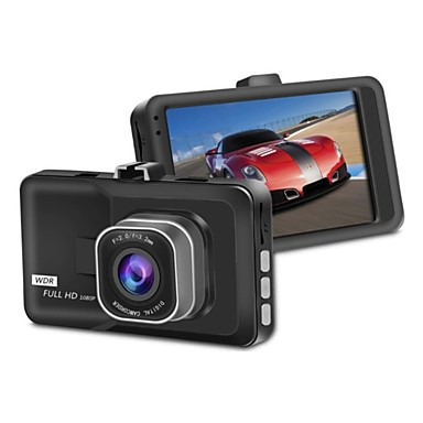billige Bil-DVR-1080p Full HD / HD Bil DVR 170 grader Bred vinkel 2.6 tommers Dash Cam med Night Vision / G-Sensor / Bevegelsessensor Bilopptaker
