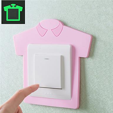 Klistermærker til kontakter - Selvlysende mur klistermærker Still Life / Former Stue / Innendørs / Kan fjernes