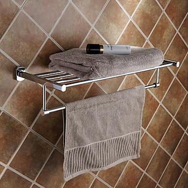 Ράφιι μπάνιου Δημιουργικό / Πολυλειτουργία Μοντέρνα Ορείχαλκος 1pc Επιτοίχιες