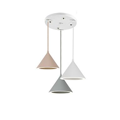 QINGMING® 3-Light Lanterne / Mini Lysekroner Nedlys galvanisert Metall Mini Stil, Trefarget 110-120V / 220-240V Varm Hvit / Kald Hvit / Varm hvit + hvit