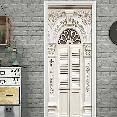Dekorative Mur Klistermærker - 3D Mur Klistremerker 3D Innendørs