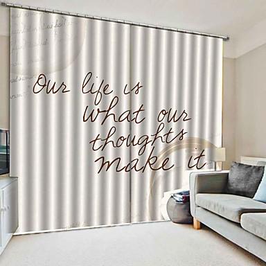 Hot-selling de baixo custo de impressão digital 3d cortina de luxo blackout à prova d 'água 100% poliéster cortina de tecido para o quarto sala de estar