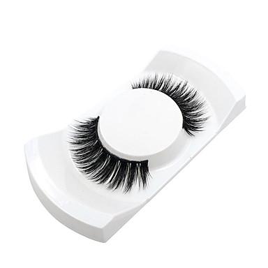 Cílios 2 pcs Simples Feminino Ultra Leve (UL) Confortável Casual Conveniência Cílios de Lã Animal Roupa Diária Férias Tiras Completas de Cílios - Maquiagem Maquiagem para o Dia A Dia Clássico