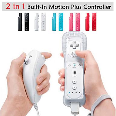 preiswerte Wii Zubehör-Kabellos Game-Controller Für Wii U / Wii . Wii MotionPlus Game-Controller Metal / ABS 1 pcs Einheit