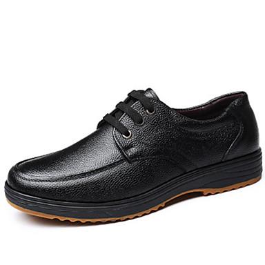 Ανδρικά Παπούτσια άνεσης Δέρμα Φθινόπωρο & Χειμώνας Oxfords Μαύρο