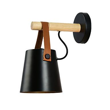 μοντέρνο σκανδιναβικό νεωτερισμό ματ μαύρο τοίχο φως κρεβάτι φως ξύλινο τοίχο για υπνοδωμάτιο αίθουσα μελέτης δωμάτιο (1 φως)