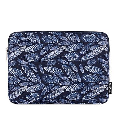 preiswerte Laptoptaschen-Polyester Reißverschluss Laptop Tasche Geometrisch Büro & Karriere Dunkelblau