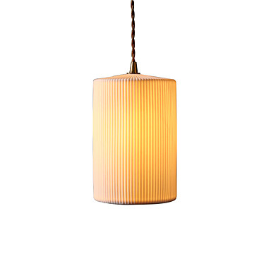 JSGYlights Mini Anheng Lys Nedlys Metall Keramikk Mini Stil, Nytt Design 110-120V / 220-240V