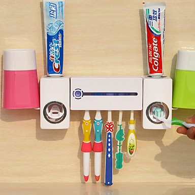 Tannbørstekopp Automatisk rengjøring Moderne Moderne PP verktøy Tannbørste og tilbehør