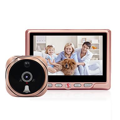 4,3 '' smart port peephole 960p støtter ekstern videoovervåkingsanrop