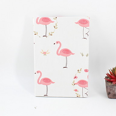 cheap Stationery Supplies-2019 New Novelty Paper / Cotton Pink Flamingo Pattern Notepads / Note Book For School Office Stationery A5