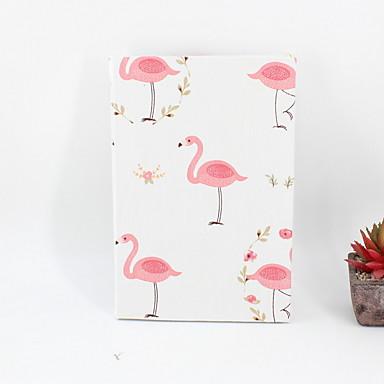 2019 nye nyhet papir / bomull rosa flamingo mønster notisblokker / notatbok for skole kontorrekvisita a5
