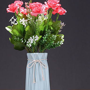 Kunstige blomster 1 Gren Klassisk Moderne Moderne Evige blomster Bordblomst