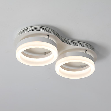 154 09 Circle Flush Mount Lights Led Ceiling Light Square Ceiling Lamp Flush Mount Modern Simple Pendant Lights Downlight Painted Finishes For