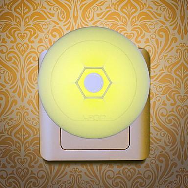 1pc Wall Plug Nightlight Gul Kreativ <=36 V