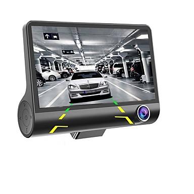 povoljno Auto DVR-4 '' 1080p 3 leća auto DVR crtica cam 170 vozila video rekorder kameru