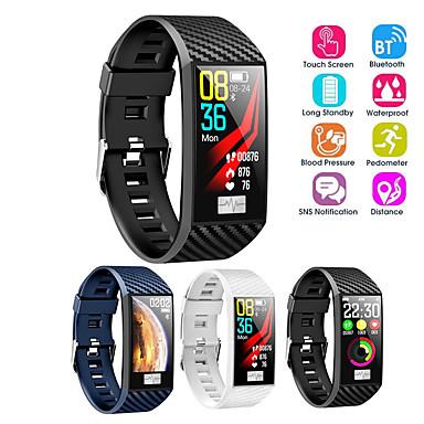 df02 smart band vanntett ecg hjertefrekvens blodtrykk monitor ips stor skjerm smart klokke for android ios smart armbånd